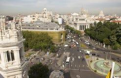 Plaza de Cibeles στη Μαδρίτη, Ισπανία Στοκ φωτογραφίες με δικαίωμα ελεύθερης χρήσης
