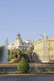Plaza de Cibeles Royalty Free Stock Image