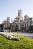 Plaza de Cibeles Royalty Free Stock Photos