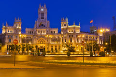 Plaza de Cibeles Stock Photos