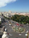 plaza de Cibeles 免版税图库摄影