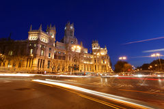 Plaza de cibeles Royalty Free Stock Photos