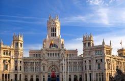 Plaza de Cibeles in Madrid. The Plaza de Cibeles in madrid Spain Stock Image