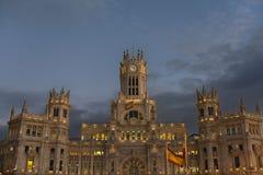 Plaza de Cibeles, Madrid Stock Images