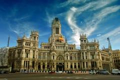 Plaza de Cibeles, Madrid, España. Imagen de archivo