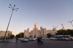 Plaza de Cibeles, Madrid, Espagne Image libre de droits