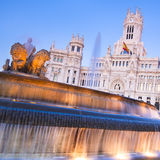 Plaza de Cibeles, Madrid, Spain. Royalty Free Stock Photo