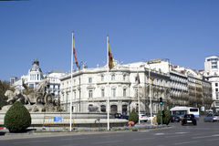 Plaza de Cibeles, Madrid Royalty Free Stock Photo