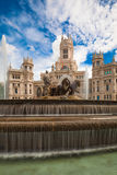Plaza de Cibeles, Madrid, Spain Royalty Free Stock Photo