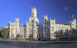 Plaza de Cibeles, Madrid, Spain stock photos