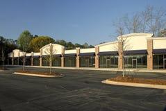 Plaza de compra nova Fotografia de Stock Royalty Free