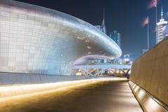 Plaza de conception de Dongdaemun Photographie stock libre de droits