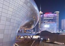 Plaza de conception de Dongdaemun Photographie stock