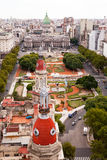 Plaza de Congreso, Μπουένος Άιρες Στοκ Φωτογραφία