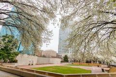 Plaza de Corpening à Winston-Salem, la Caroline du Nord Images stock