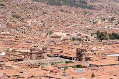 Plaza De Cusco armas Zdjęcia Royalty Free