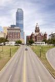 Plaza de Dealey à Dallas, le Texas, Etats-Unis image stock