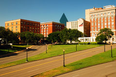 Plaza de Dealy, Dallas Imágenes de archivo libres de regalías
