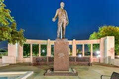 Plaza de Dealy - Dallas, le Texas photographie stock libre de droits