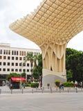 Plaza de Encarnación, Sevilla, España Imagen de archivo
