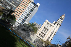 plaza de entrevero Μοντεβίδεο Στοκ Εικόνα