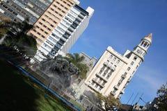 Plaza de Entrevero in Montevideo Stock Image