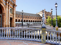 Plaza de España Stock Photography