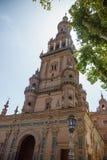 Plaza de España Séville en Espagne Photo stock