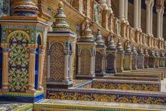 Plaza de España Séville en Espagne Images stock
