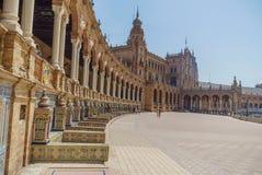 Plaza de España Séville en Espagne Photographie stock