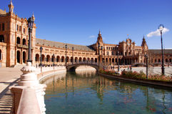 Plaza de España Royalty Free Stock Images