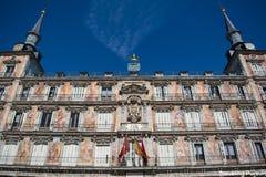 Plaza de España πλατεία στη Μαδρίτη, Ισπανία Στοκ φωτογραφίες με δικαίωμα ελεύθερης χρήσης