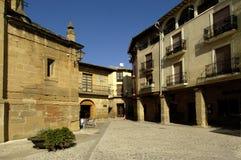 Plaza de España, Briones, Λα Rioja Στοκ Εικόνες