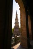 Famous Plaza de Espana, Sevilla, Spain Royalty Free Stock Photo