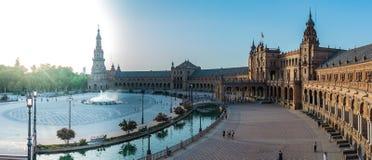 Plaza de España I immagine stock