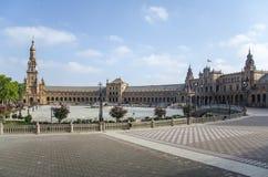 Plaza DE España, Sevilla, Spanje Royalty-vrije Stock Fotografie