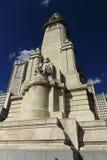 Plaza de Espaňo, το σύγχρονο κτήριο, Μαδρίτη, Ισπανία Στοκ Φωτογραφία