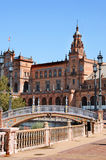 Plaza de Espa�a, Seville Royalty Free Stock Photos