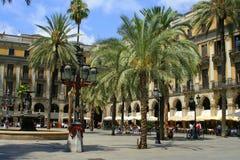 Plaza de España Fotos de archivo libres de regalías