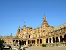 Plaza de España Imagenes de archivo