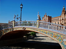 Plaza DE España Royalty-vrije Stock Afbeeldingen