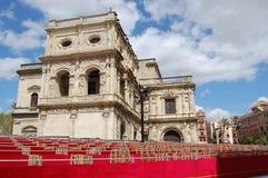 Plaza de España Imágenes de archivo libres de regalías