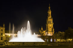 Plaza de España Στοκ εικόνες με δικαίωμα ελεύθερης χρήσης