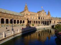 Plaza de España. (Square of Spain) Seville, Spain Stock Images