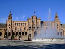 Plaza de España. (Square of Spain) Seville, Spain Stock Photography