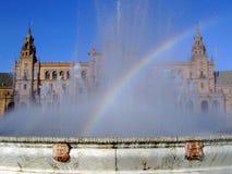 Plaza de España. (Square of Spain) Seville, Spain Royalty Free Stock Photo