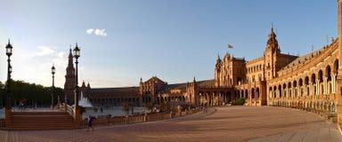 Plaza de España Stockbilder