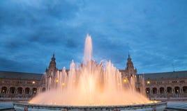 Plaza de España Στοκ Φωτογραφία