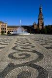 Plaza de España Immagini Stock