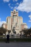 Plaza de España - Madrid Immagine Stock